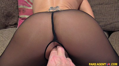Pantyhose, Teen casting