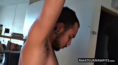 Hairy gay, Armpits, Armpit