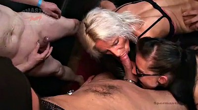 Gangbang creampie, Sandra, German milf, Patti, German creampie, Grouped