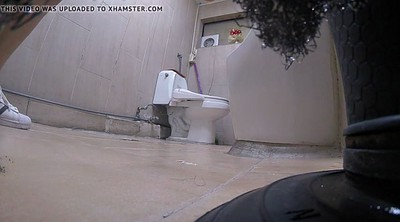 Toilet, Asian cam, Korean teen, Hidden cam, Korean toilet