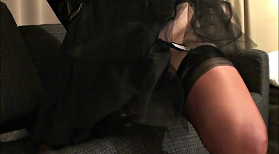 Nylon, Crossdresser, Satin