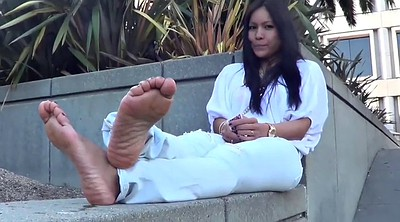 Asian foot, Asian feet, Asian foot fetish, Smelly, Sole, Nuts