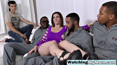 Forced, Mom and son, Force, Mom son, Mom bbc