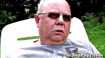 Grandpa, Deepthroat, Grandpa grandpa, Mature small tits