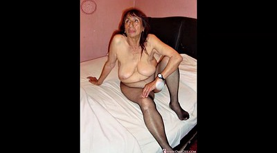 Mature hairy, Fatty, Hairy granny