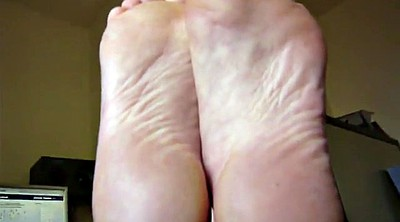 Mature foot, Foot, Smelly