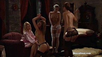 Lesbian bdsm, Lesbian slave, Mistress whipping, Whipped, Young lesbians