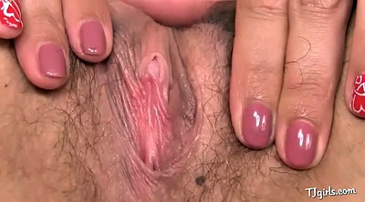 Pussy gape, Hairy solo