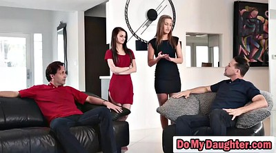 Daughter, Step daughter, Teen foursome