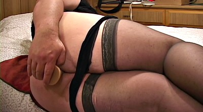 Chubby anal, Big ass solo, Solo bbw, Female, Ass solo, Nylon stocking