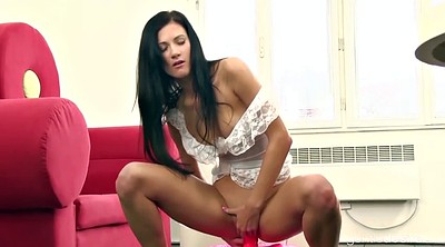 Czech, Solo masturbation orgasm, Solo toy, Inflatable