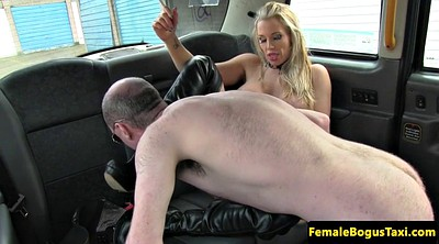 Taxi, Big tits taxi, Punished