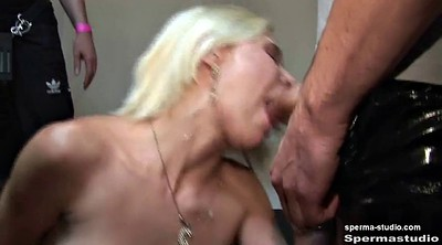 Facial, German gangbang