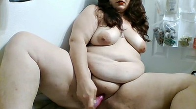 Bbw solo, Toy, Playing