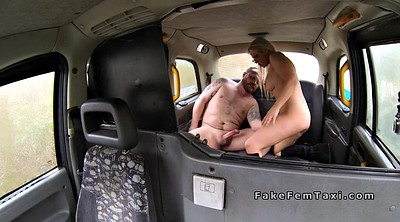 Fake taxi, Female taxi, Female, Fat guy