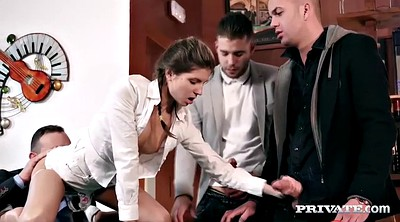Gangbang creampie, Gina gerson, Private anal, Double creampie