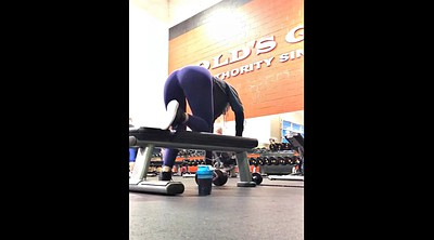 Hidden cam, Workout