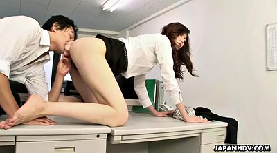 Office, Sleeping, Japanese femdom, Japanese office, Pantyhose sleep, Office lady