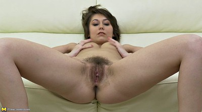 Hairy mature, Hairy dildo