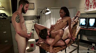 Femdom handjob, Small girls, Interracial cuckold