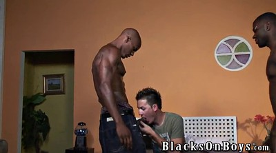 Young boy, Interracial gangbang, Black white