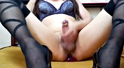 Butt plug, Anal solo, Solo anal, Sit on cock, Real anal, Anal plug