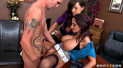 Lisa ann, Ann, Tits, Mom threesome, Ava addams