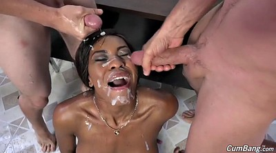 Gangbang, Blacked, Nadia, Nadia white, Jay, Interracial gang bang