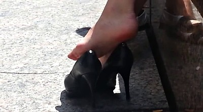 High heels, High, Candid, Footing, High shoe, High heeled