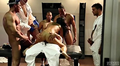Asian orgy, Asian group, Asa akira