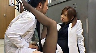 Kiss, Nylons, Japanese kiss, Asian milf, Nylon cumshot, Japanese nylon