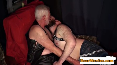 Leather, Mature anal