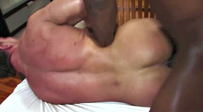 Muscle, Bodybuilder, Bodybuilding, Black big, Bbc white