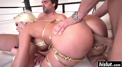 Double penetration, Britney amber, Britney