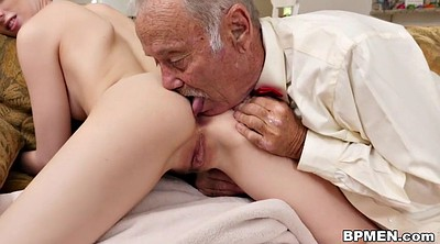 Old anal, Old man anal, Try, Old granny