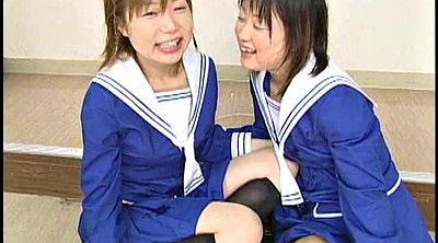 Swap, Japanese schoolgirl, Japanese cum swallow