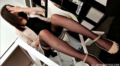 Japanese pantyhose, Japanese office, Japanese pantyhose office, Asian pantyhose