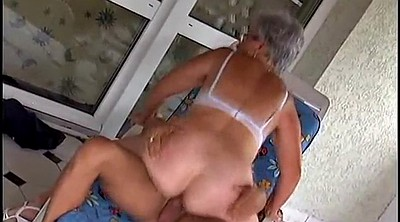 German mature, Old granny, German granny, Granny orgasm