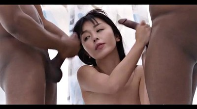 Asian bbc, Double bbc, Asian cumshot