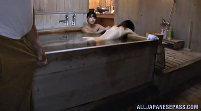 Asian granny, Sauna, Man, Spa, Asian old