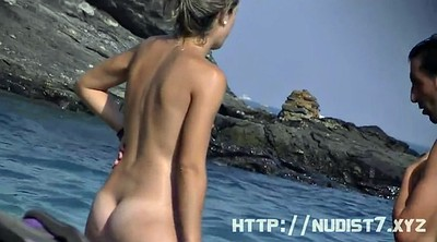 Nudist, Model, Hidden beach, Nudist beach, Voyeur beach, Public beach