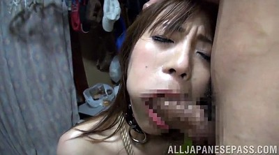 Facial, Asian gangbang
