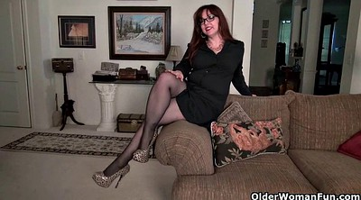 Mature pantyhose, Fetish, Nylon mature, Chubby nylon