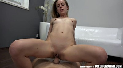 Czech, Casting girl, Anal casting