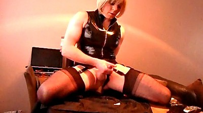 Crossdresser, Crossdress, Riding dildo