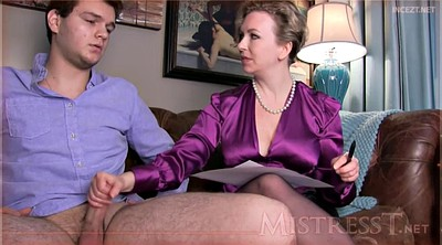 Milf mom, Mom pantyhose, Mom handjob
