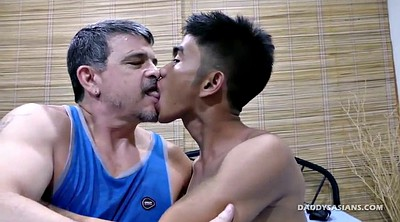 Gay dad, Interracial asian, Daddy gay