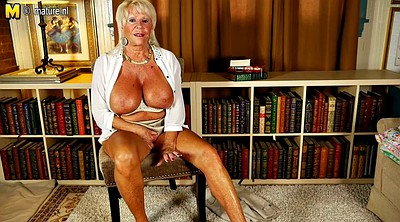 Grandma, Big tits mature, Rack