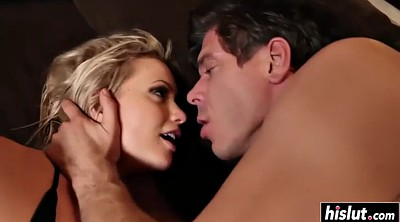 Licking pussy, Penetration, Hairy blonde