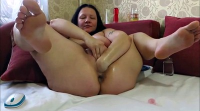 Fist, Horny mature